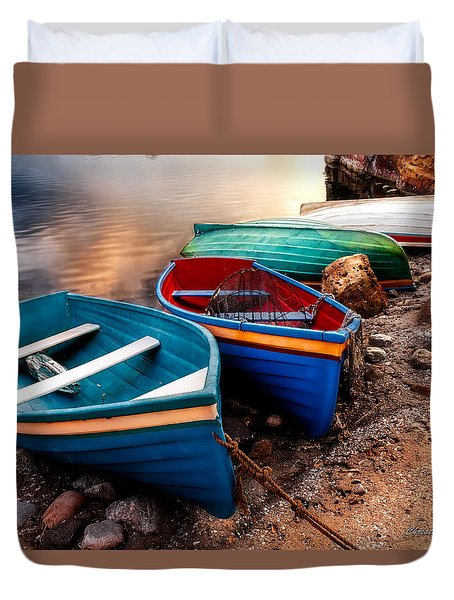 All Ashore Duvet Cover by Christopher Holmes