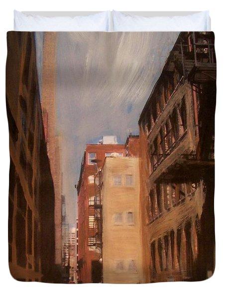 Alley Series 1 Duvet Cover by Anita Burgermeister