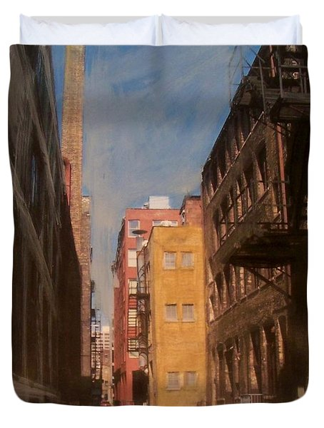 Alley Series 2 Duvet Cover by Anita Burgermeister