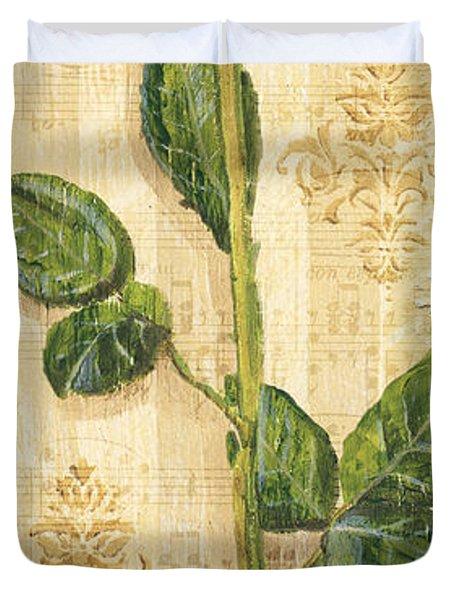 Allie's Rose Sonata 2 Duvet Cover by Debbie DeWitt