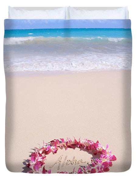 Aloha Duvet Cover by Mary Van de Ven - Printscapes