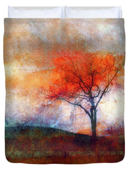 Alone In Colour Duvet Cover by Tara Turner
