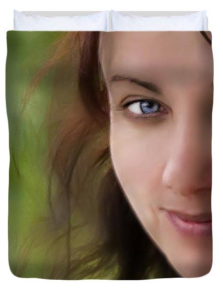 Always On My Mind Duvet Cover by Evelina Kremsdorf