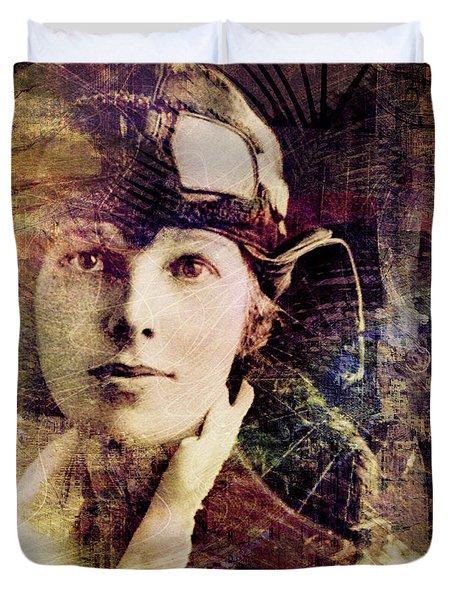 Amelia Duvet Cover by Barbara Berney