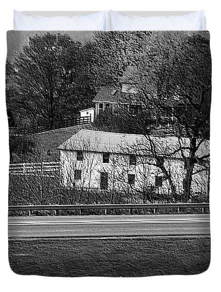Amish Farm Duvet Cover by Kathleen Struckle