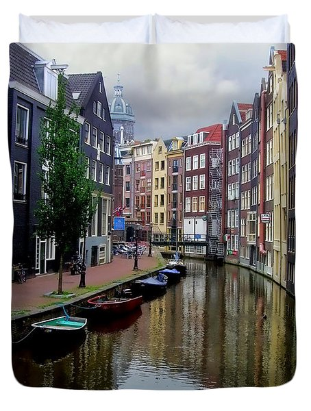 Amsterdam Duvet Cover by Heather Applegate
