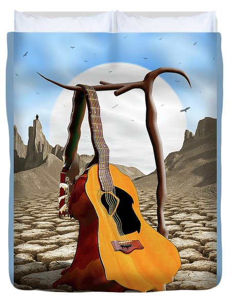 An Acoustic Nightmare Duvet Cover by Mike McGlothlen