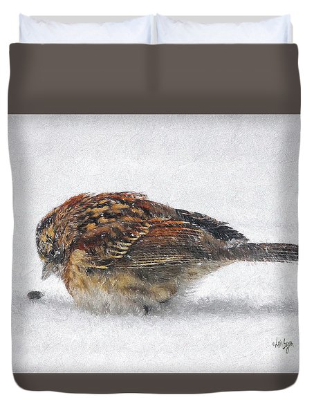 And These Thy Gifts  Duvet Cover by Lois Bryan