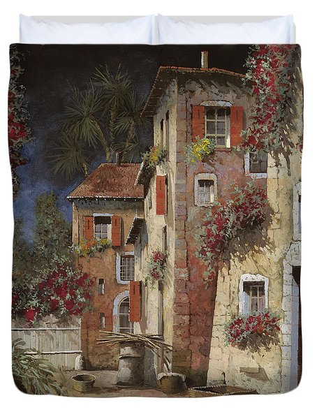 angolo buio Duvet Cover by Guido Borelli