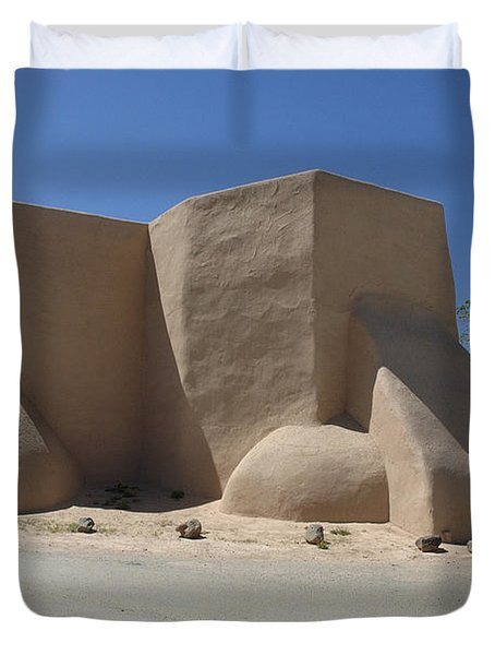 Ansel's Church Duvet Cover by Jerry McElroy