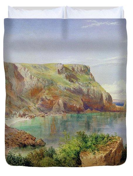 Ansty's Cove Duvet Cover by John William Salter