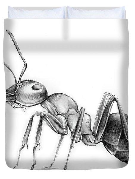 Ant Duvet Cover by Greg Joens