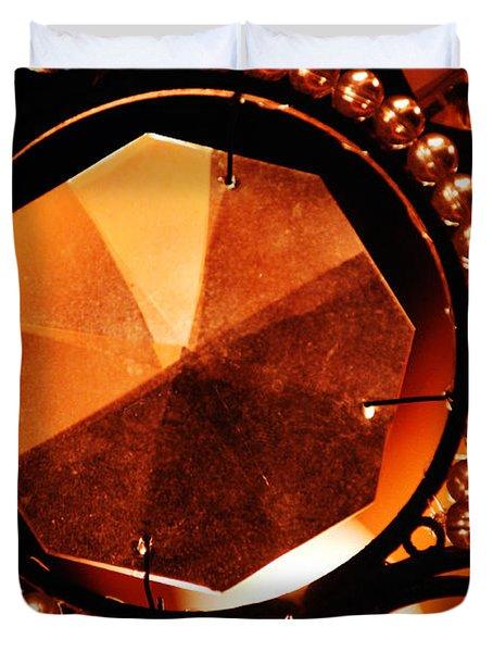 Antique Glass Duvet Cover by Jill Reger