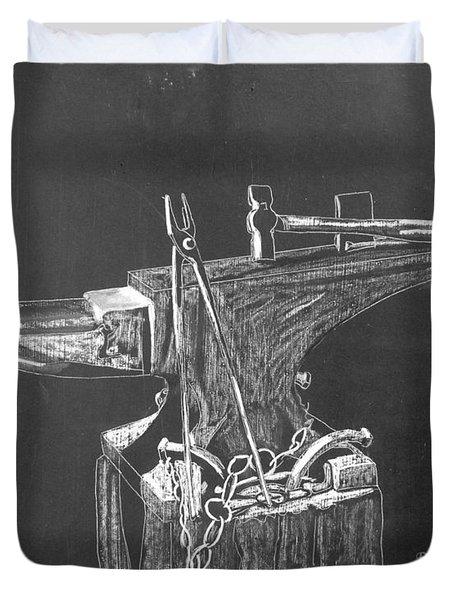 Anvil Duvet Cover by Richard Le Page