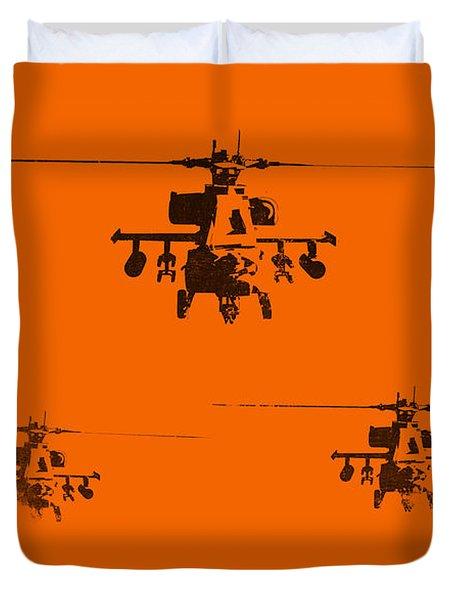 Apache Dawn Duvet Cover by Pixel  Chimp