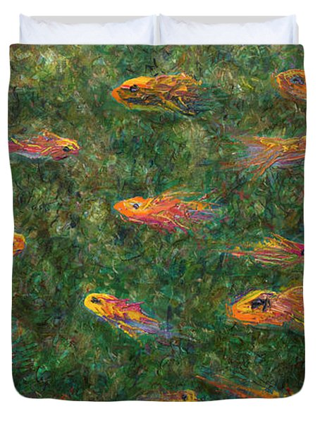 Aquarium Duvet Cover by James W Johnson