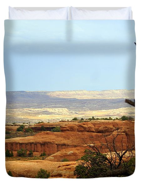 Arches Vista Duvet Cover by Marty Koch