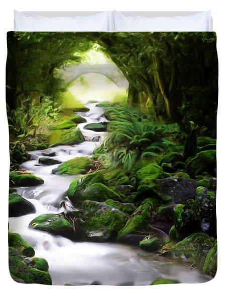 Arden Bridge Duvet Cover by John Edwards