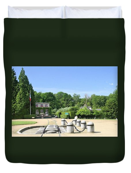 Duvet Cover featuring the photograph Armistice Clearing In Compiegne by Travel Pics