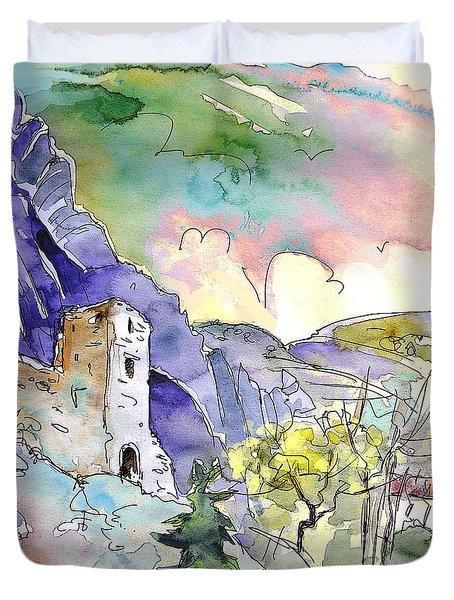 Arnedillo In La Rioja Spain 03 Duvet Cover by Miki De Goodaboom