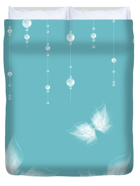 Art en Blanc - s11a Duvet Cover by Variance Collections