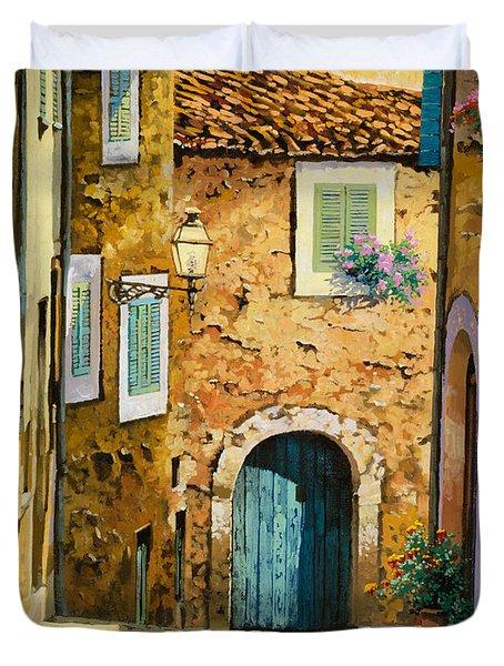 Arta-mallorca Duvet Cover by Guido Borelli