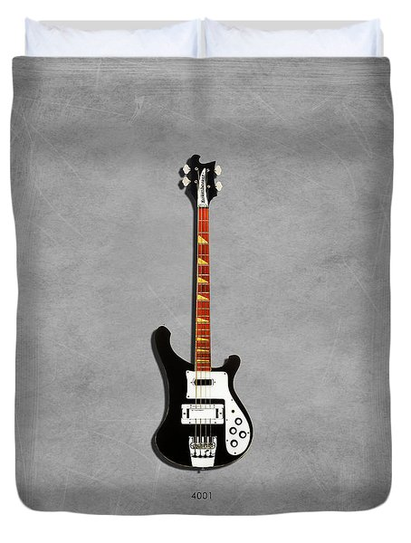 Rickenbacker 4001 1979 Duvet Cover by Mark Rogan