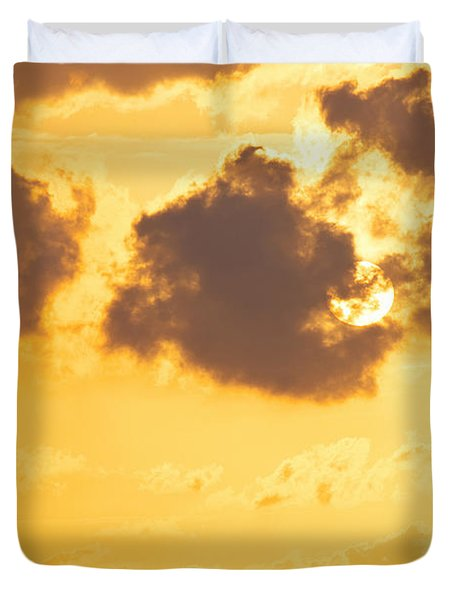 Sunset Duvet Cover by Angela Doelling AD DESIGN Photo and PhotoArt