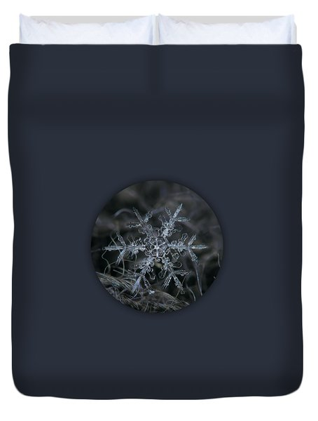 Snowflake 2 Of 19 March 2013 Duvet Cover by Alexey Kljatov