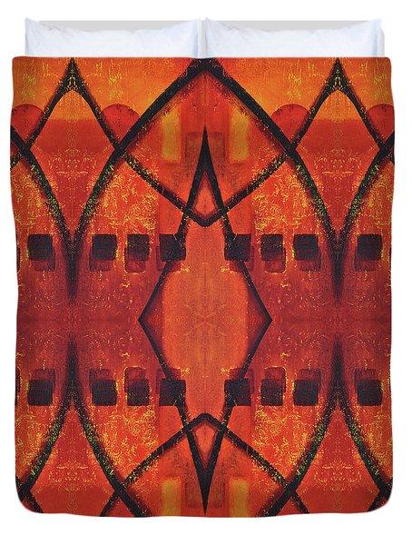 Dusk Duvet Cover by Leana De Villiers