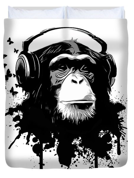 Monkey Business Duvet Cover by Nicklas Gustafsson