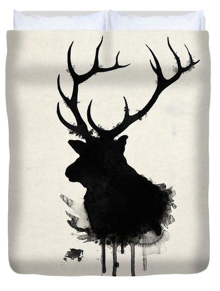 Elk Duvet Cover by Nicklas Gustafsson