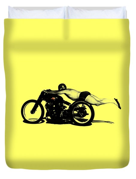 Roland Rollie Free Duvet Cover by Mark Rogan