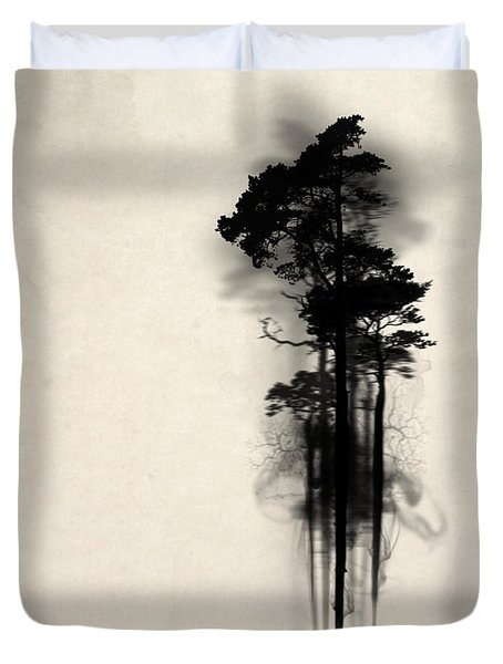Enchanted Forest Duvet Cover by Nicklas Gustafsson