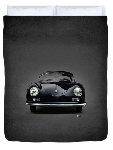 Porsche 356 Duvet Cover by Mark Rogan