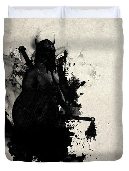 Viking Duvet Cover by Nicklas Gustafsson