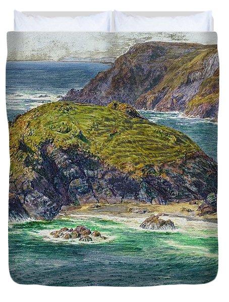 Asparagus Island Duvet Cover by William Holman Hunt