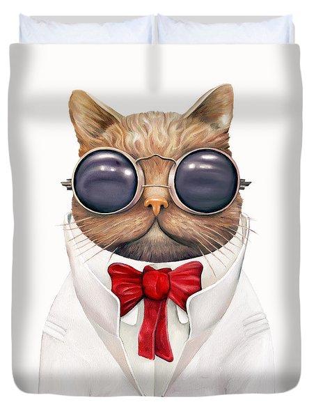 Astro Cat Duvet Cover by Animal Crew