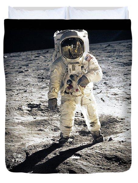 Astronaut Duvet Cover by Photo Researchers