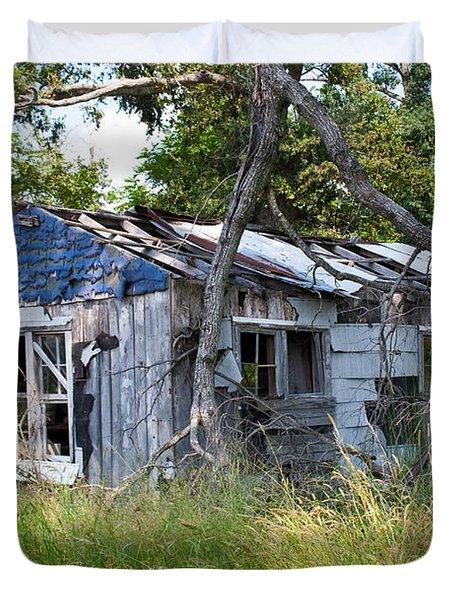 Asure Shack Duvet Cover by Douglas Barnett
