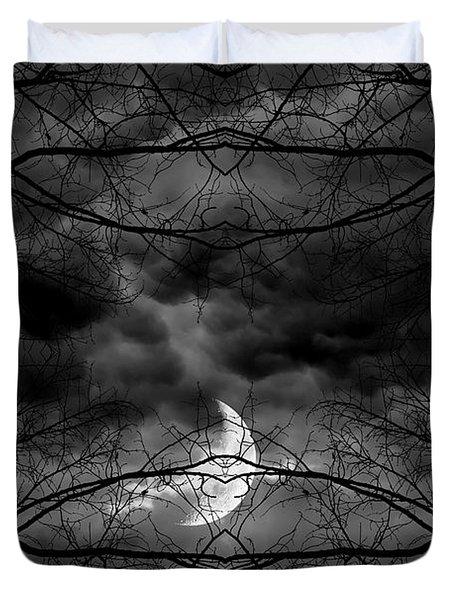 Athena's Bird Duvet Cover by Lourry Legarde