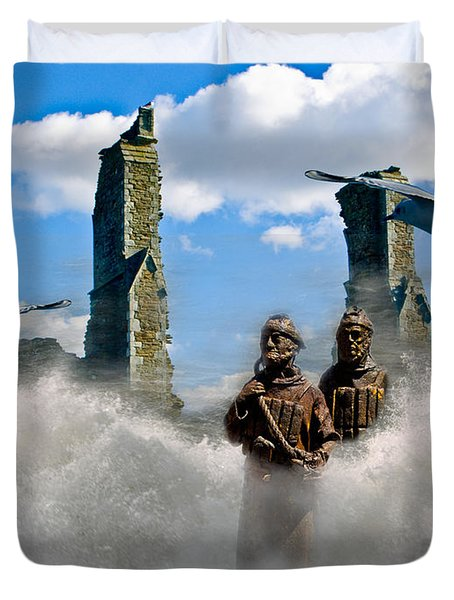 Atlantis Duvet Cover by Brian Roscorla