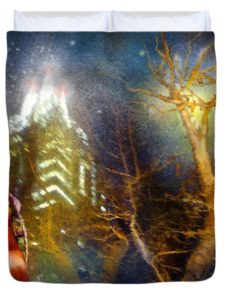 Austin Nights 02 Duvet Cover by Miki De Goodaboom