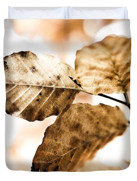 Autumn Leaves Duvet Cover by Frank Tschakert