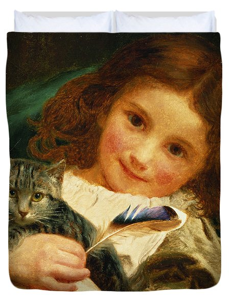 Awake Duvet Cover by Sophie Anderson