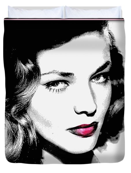 Bacall Duvet Cover by WBK