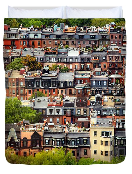Back Bay Duvet Cover by Rick Berk