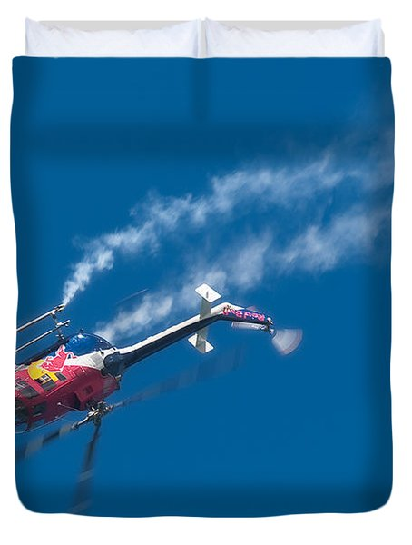Backflip Duvet Cover by Sebastian Musial