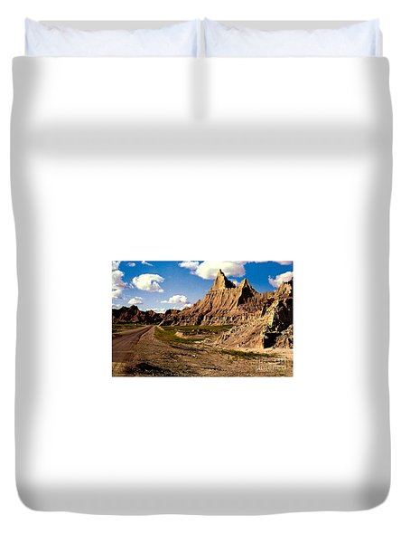 Badlands National Park  Duvet Cover by Ruth  Housley