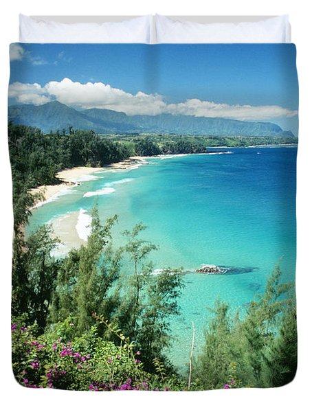 Bali Hai Beach Duvet Cover by Dana Edmunds - Printscapes